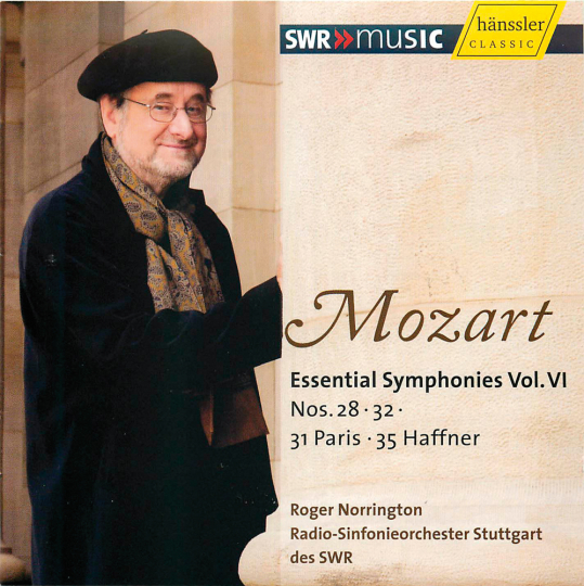 Wolfgang Amadeus Mozart. Essential Symphonies Vol. VI. CD.