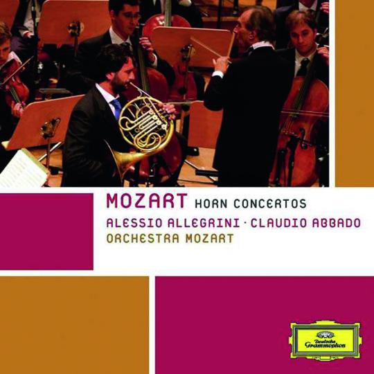 Wolfgang Amadeus Mozart. Hornkonzerte Nr.1-4. CD.