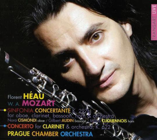 Wolfgang Amadeus Mozart. Klarinettenkonzert, Sinfonia concertante. CD.