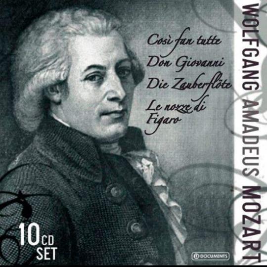 Wolfgang Amadeus Mozart. Opern.