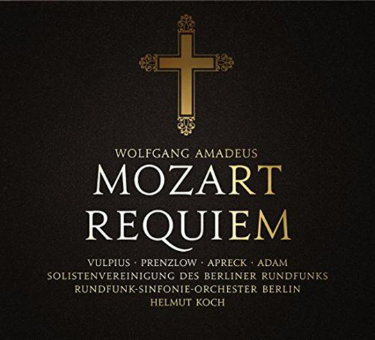 Wolfgang Amadeus Mozart. Requiem KV 626. CD.