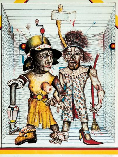 Wolfgang Petrick »Hausfrauen«