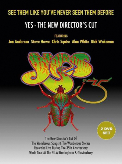 Yes. The New Director's Cut (35th Anniversary World Tour). 2 DVDs.