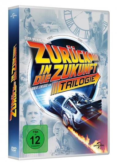 Zurück in die Zukunft I-III (30th Anniversary Edition). 4 DVDs.