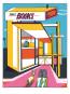 Albert Camus. Jonas oder der Künstler bei der Arbeit. Graphic Novel. Vorzugsausgabe mit Original-Siebdruck »Jonas Books«. Bild 1