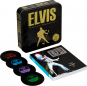 Elvis. The Definitive Guide to the King of Rock'n'Roll. Mit vier Untersetzern im Vinyl-Design. Bild 1