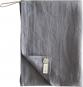 Geschirrhandtuch aus Leinen, grau. Bild 1