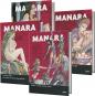 Milo Manara. Erotik Comics. Sonderausgabe 2021. 4 Bände. Bild 1