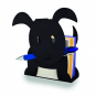 Notizzettelhalter »Hund«, schwarz. Bild 1