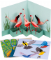 Pop-Up Grußkarten Set »Die Vögel«. Bild 1