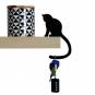 Schlüsselhalter »Katze«, sitzend. Bild 1
