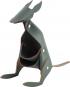 Stifthalter Känguru, grau. Bild 1