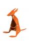 Stifthalter Känguru, orange. Bild 1
