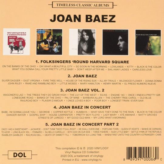Joan Baez Kinder