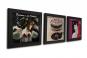 Art Vinyl. Rahmen in Schallplattengröße. Schwarz. 3er Set. Bild 2