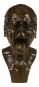 Bronzebüste Franz Xaver Messerschmidt »Studienkopf mit herausgestreckter Zunge«. Bild 2