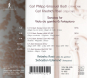 Carl Philipp Emanuel Bach. Gambensonaten Wq.88,136,137. CD. Bild 2