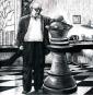 Friedrich Dürrenmatt. Der Schachspieler. Ein Fragment. Bild 2