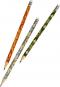 Gefährlich schön Bleistifte in Geschenkschachtel. Motiv Rosa Blume. 6 Bleistifte mit Radiergummi, 3 Motive. Bild 2