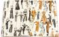 Geschenkpapier »Mode der 1950er-Jahre«. Bild 2