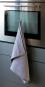 Geschirrhandtuch aus Leinen, grau. Bild 2