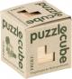 Holzpuzzle »Würfel«, naturfarben. Bild 2
