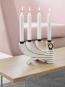 Kerzenleuchter »Nordic Light« weiß, vierarmig. Bild 2
