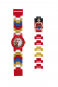 LEGO Wonder Woman Kinder-Armbanduhr mit Minifigur. Bild 2