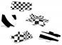 Optische Illusionen Black & White Puzzle No. 2. 80 Teile. Bild 2