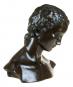 Bronzebüste Wilhelm Lehmbruck »Geneigter Frauenkopf«. Bild 3