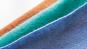 Dunkelblau gestreifter Wolle-Kaschmirschal »Ocean«. Bild 3