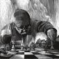 Friedrich Dürrenmatt. Der Schachspieler. Ein Fragment. Bild 3