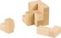 Holzpuzzle »Würfel«, naturfarben. Bild 3