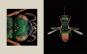 Portraits. Die Schönheit der Insekten. Microsculpture. Bild 3