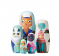Puppe in der Puppe »Handbemalte Holzkatzen«. Bild 3