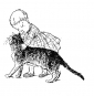 Théophile Alexandre Steinlen. Katzen. Bild 3