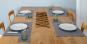 Platzsets aus Leinen, grau. Bild 3