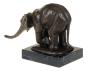 Bronzefigur Rembrandt Bugatti »Indischer Elefant«. Bild 4