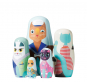 Puppe in der Puppe »Handbemalte Holzkatzen«. Bild 4