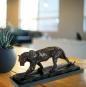 Bronzefigur Rembrandt Bugatti »Panther im Lauf«. Bild 5