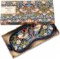 Schlafmaske »William Morris«, blau. Bild 5