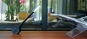 Schwarze Schreibtischlampe aus Holz «Oktagon«. Bild 5