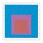 MoMA Josef Albers Holzpuzzle-Set. 6 Puzzle in einer Box. Bild 7